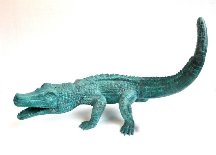 impressive-life-size-bronze-crocodile-alligator (1)
