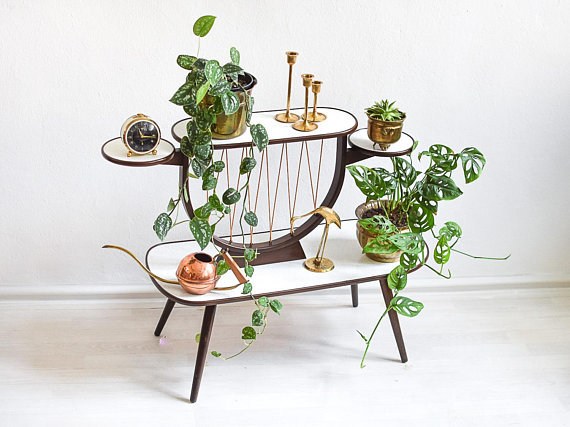 plant-stand-mid-century-plant-stand-plant-stand-tiered-tiered-plant-stand-plant-stands-indoor-vintage-plant-stand-kidney-table-boho (2)