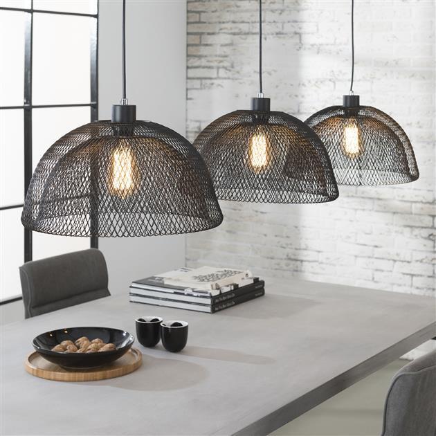 set-of-3-dark-grey-bee-pendant-lights