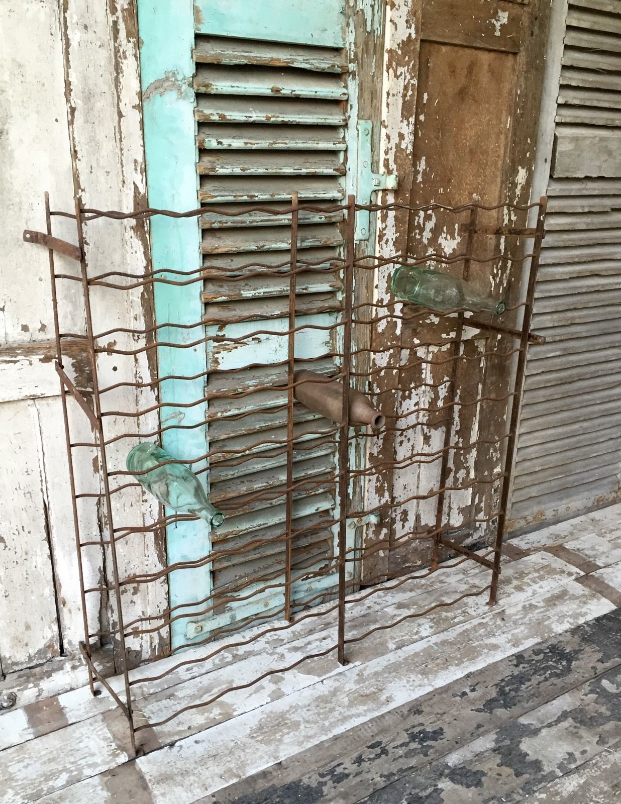 vintage-french-wine-cage-rack-holds-100-bottles