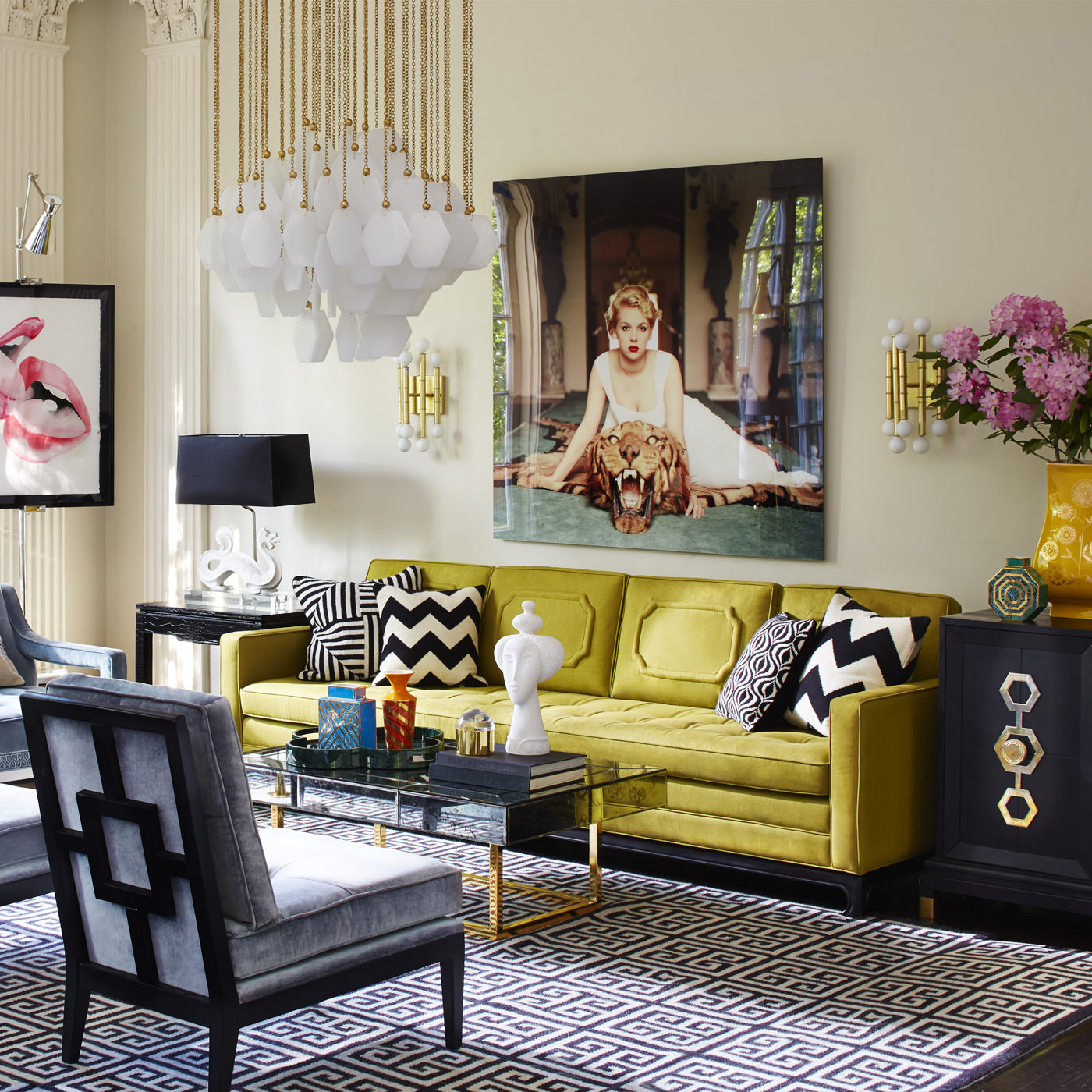 How to Get the Hollywood Regency Style - Vinterior