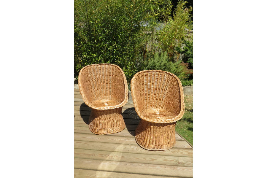 Rattan furniture is an affordable way to add bohemian flair to your home - Vinterior