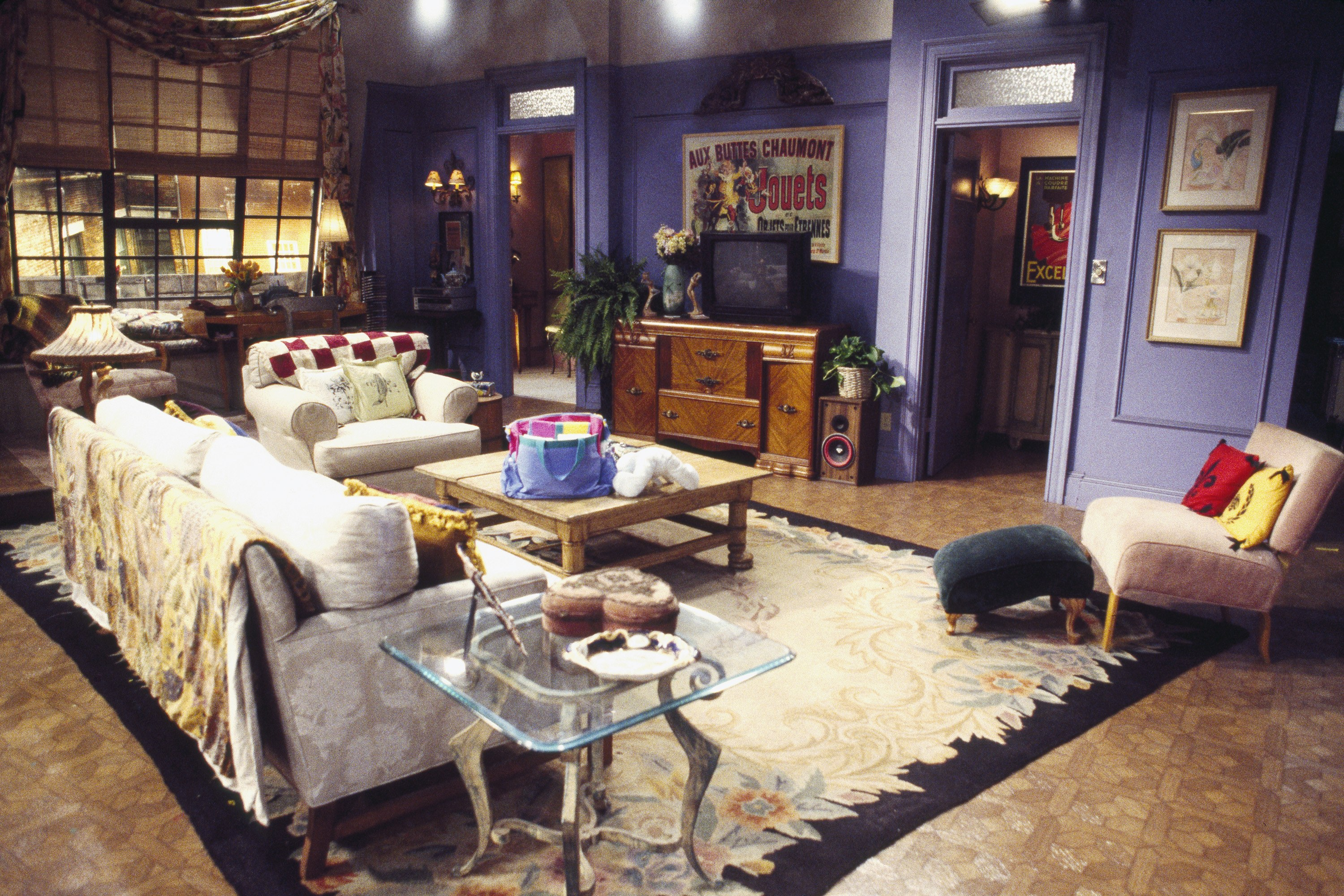 Iconic TV Show Sets Recreated with furniture from Vinterior